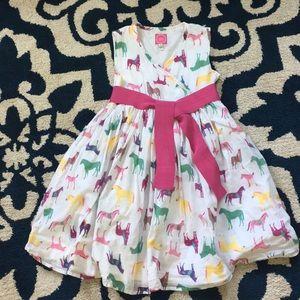Joules Horse Dress 7 Girls